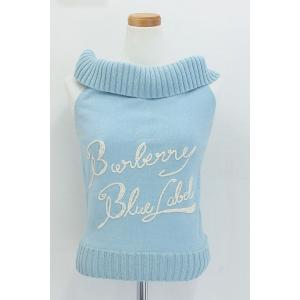 BURBERRY BLUE LABEL バーバリーブルーレーベル 【商品名】ノースリーブニット  【...