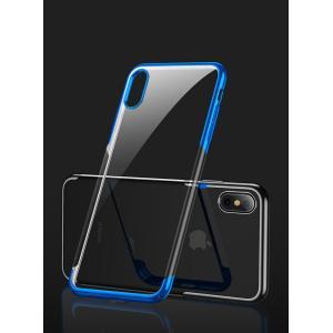 Apple iPhone X XS MAX XR XS ケース クリアカバー アップル CASE 耐衝撃 軽量 持ちやすい カ visos-store
