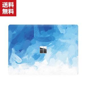 Surface Laptop 2 背面保護フィルム マイクロソフト サーフェスラップトップ Microsoft 本体保護フィルム 後の保護フィル ステッカー|visos-store