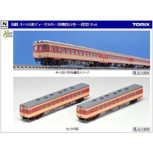 国鉄 キハ55形ディーゼルカー(初期急行色・一段窓)セット|vista2nd-shop