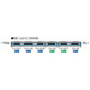 TOMIX JR キハ185系 JR四国色 基本+増結 6両セット|vista2nd-shop