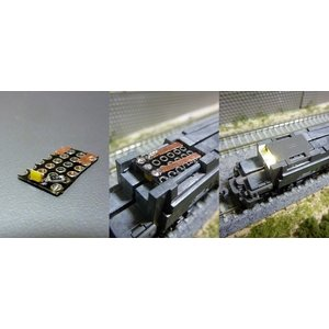 TOMIX機関車用 電球色ライト基板D 1枚入( DE10、EH500 (9161)、EH800ほか)|vista2nd-shop