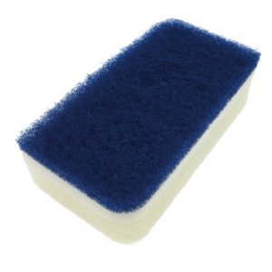 キッチンスポンジ ASSO 抗菌ソフトキッチンスポンジ ブルー 12032085|vita-spugna