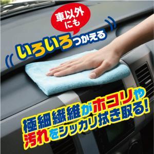 洗車クロス いろいろつかえるマイクロファイバー3枚入 16000437 vita-spugna