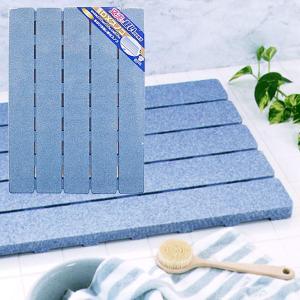 お風呂スノコ DXスノコ ブルー かため 10030631|vita-spugna