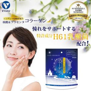 シンデレラ乳酸菌 H61株乳酸菌 コラーゲン 核酸 ビタミンC マンゴスチン プラセンタ 美容 健康...