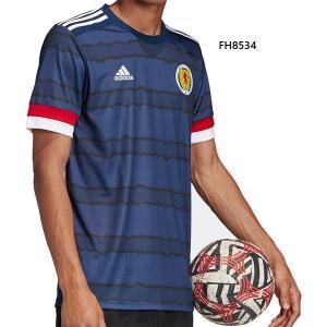 アディダス メンズ スコットランド代表 ホームジャージー サッカーウェア レプリカユニフォーム 半袖...