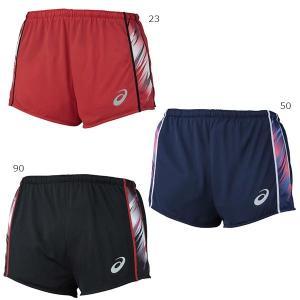 アシックス メンズ ジョギング マラソン ランニング ウェア インナー付 短パン ショートパンツ XT1541