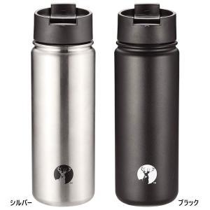 キャプテンスタッグ メンズ レディース HD2wayボトル500 水筒 マグボトル 保温 保冷 レジャー キャンプ アウトドア UE-3481 UE-3482|vitaliser