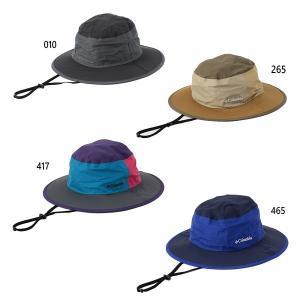 コロンビア メンズ レディース ティフィンヒルフォルダブルブーニー Tiffin Hill Foldable Booney アウトドア用品 帽子 防水 PU5467|vitaliser