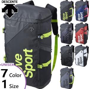 40L デサント メンズ レディース スクエアバッグL リュックサック デイパック バックパック バッグ 鞄 DMAPJA05|vitaliser