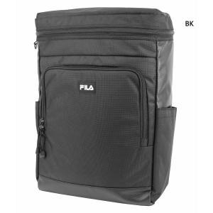 約20L フィラ メンズ レディース リュックサック デイパック バックパック バッグ 鞄 スクエアリュック 背面ロゴEVA型押し 撥水 軽量 大容量 FL-0007|vitaliser