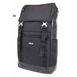 約20L フィラ メンズ レディース フラップリュック リュックサック デイパック バックパック バッグ 鞄 かぶせリュック ロゴ 撥水 軽量 FL-0008|vitaliser