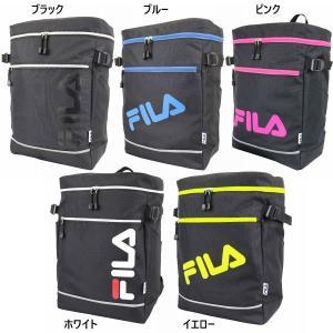フィラ メンズ レディース スクエアリュック リュックサック デイパック バックパック バッグ 鞄 BOX ボックス 通学 部活 ロゴ FL-0009|vitaliser
