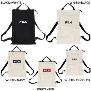 フィラ メンズ レディース 2WAY キャンバスリュック リュックサック デイパック バックパック バッグ 鞄 FL-0014|vitaliser