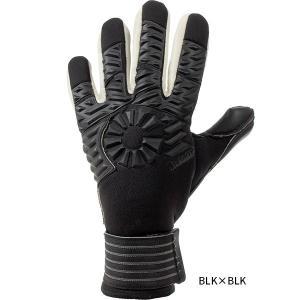 10 7 8 9 BLK×BLK(ブラック×ブラック) ゴールキーパーグローブ 男性用 女性用 ユニ...