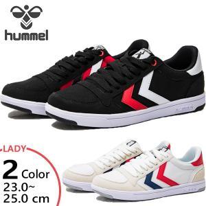 ヒュンメル レディース スタディール ライト キャンバス STADIL LIGHT CANVAS ローカット スニーカー シューズ 紐靴 HM210901|vitaliser