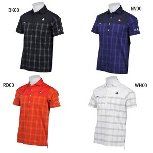 L LL M BK00(ブラック) WH00(ホワイト) ゴルフシャツ メンズアウター おしゃれ オ...