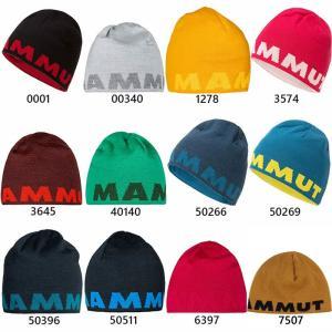 マムート メンズ レディース ロゴ ビーニー LOGO BEANIE リバーシブル ニット帽 帽子 登山 アウトドア クライミング タウンユース 1191-04891|vitaliser