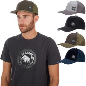 マムート メンズ レディース アルナスカ キャップ Alnasca Cap 帽子 アウトドア 登山 ロゴ 1191-00150|vitaliser