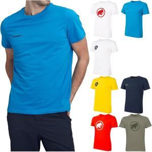 マムート メンズ ロゴTシャツ Logo T-Shirt Men アウトドアウェア トップス 半袖 1017-07294|vitaliser