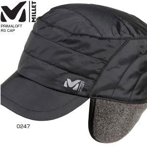 ミレー メンズ プリマロフト リップストップ キャップ PRIMALOFT RS CAP 帽子 防寒 MIV6220|vitaliser