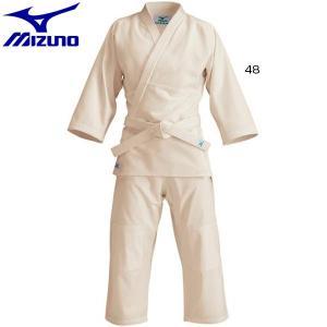 ミズノ メンズ レディース ジュニア 愛校 正課用 上衣 パンツ 帯セット 生成 ウェア 柔道着セット 22JG5A90