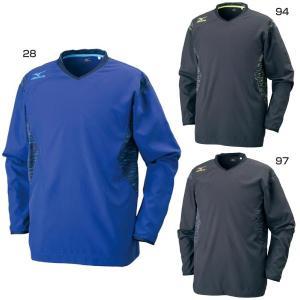 ミズノ メンズ レディース ブレーカーシャツ ウインドブレーカー 防風 バレーボールウェア 長袖 V2ME7511