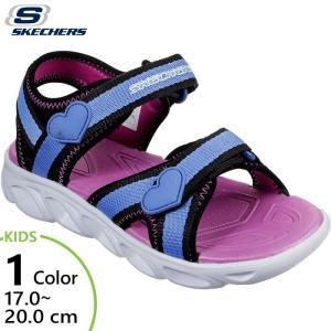 スケッチャーズ ジュニア キッズ ヒプノ スプラッシュ スプラッシュ ゾーン サンダル シューズ 光る靴 20215L|vitaliser