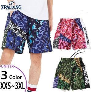 スポルディング メンズ レディース プラクティスパンツ ミックスカモ バスケットボールウェア バスパン ボトムス 半ズボン SMP201120 vitaliser