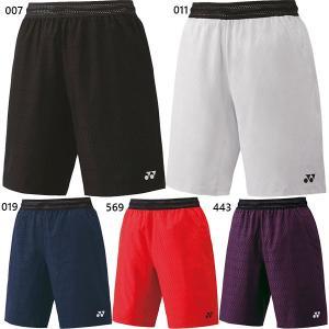 ヨネックス メンズ レディース ハーフパンツ テニス バドミントンウェア ボトムス 半ズボン 15072|vitaliser