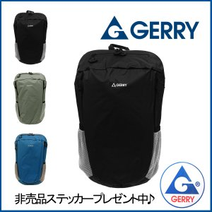 GERRY バッグ GE-1502 ブラック 軽量バックパック リュック|vitaljpn