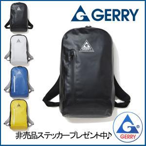 リュック バックパック 防水バッグ メンズ レディース 防水 ターポリン GE-8011 ブラック GERRY ジェリー|vitaljpn