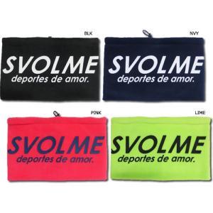 【商品名】SVOLME / スボルメ ロゴ ネックウォーマー 【品番】183-88929 【素材】ポ...
