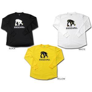 EGOZARU/エゴザル スピード ロゴ ロングスリーブ Tシャツ (EZLT-2011)
