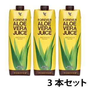 フォーエバー FLP アロエベラ ジュース 1L  3本セット|vitamindo