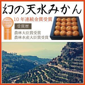 ギフト 関東まで送料無料 (300箱限定) 幻の天水みかん ...