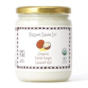 ブラウンシュガーファースト 有機エキストラヴァージンココナッツオイル 425g×1個|vitaminworld