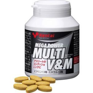 「Kentai(ケンタイ) メガパワー マルチビタミン&ミネラル 150粒」は、筋力アップに欠かせな...