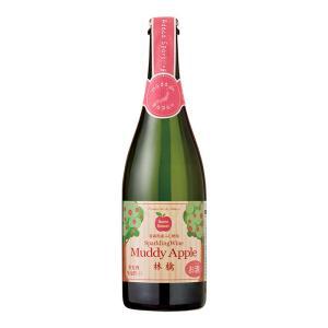 ワイン マディ アップル セミスイート スパークリングワイン 750ml 青森県産 甘口 国産 日本...