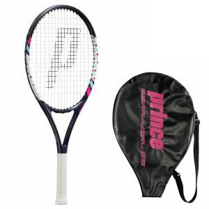 プリンス Prince ジュニア テニスラケット シエラガール25 7tj057 ストリング張上げ|viva-t