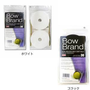 ボウブランド BOW BRAND テニス アクセサリー プログリップ スーパーウェット 30本巻 B...