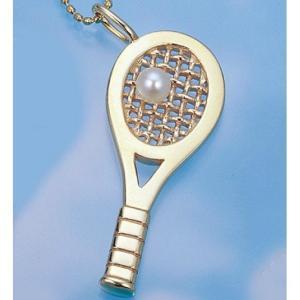 コートキーパー COURTKEEPER テニスジュエリー ゴールドラケットペンダント CK10KP4 送料無料 プレゼント好適品|viva-t