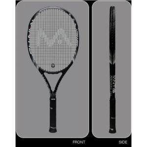 マンティス MANTIS テニスラケット パフォーマ 260 ブラック 認定張人のガット張り無料 送料無料|viva-t