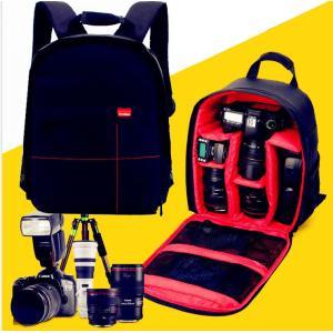 一眼レフ カメラバッグ メンズ レディース ナイロン カメラリュック カメラケース 速写対応 大容量...