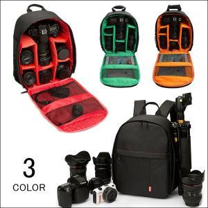一眼レフ カメラバッグ メンズ レディース カメラリュック ビジネス カメラケース 三脚収納 大容量...