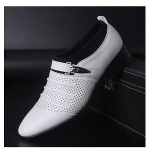 ビジネスシューズ メンズ メッシュシューズ 革靴 サンダル パンプス 夏 レザー 通気性抜群 靴 カジュアル 紳士 アウトドア コンフォート おしゃれ|viva-v1