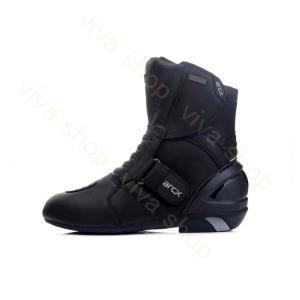 バイク用ブーツ メンズ ショートブーツ ライダーブーツ レーシング バイカー オフロード ブーツ 防水 バイクブーツ シューズ 靴 バイクウエア|viva-v1