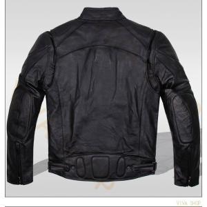 バイクジャケット メンズ レザージャケット 革ジャン 秋冬 バイクウェア バイク ジャケット ライダースジャケット 革ジャケット 防風 防寒 耐磨|viva-v1