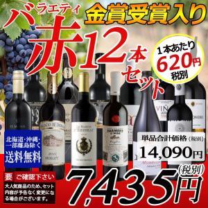 ワイン ワインセット 赤ワイン バラエティ 12本セット 送...